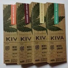 Kiva Chocolates Assorted Flavors 180mg