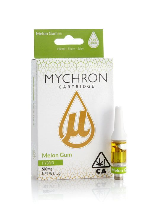 Mychron - Melon Gum Vapor Cartridge - Staff Pick!