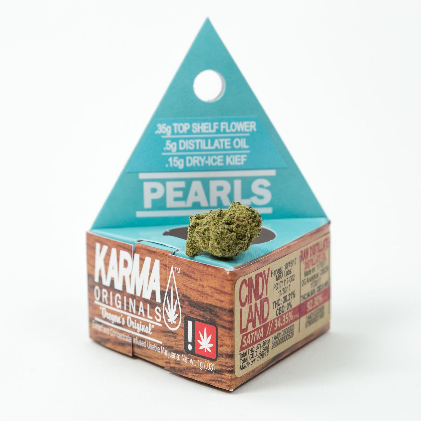 KARMA - Monkey Balls, 1 gram Pearl Indica, Was $25