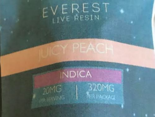 Everest-LIVE RESIN- Juicy Peaches 320mg