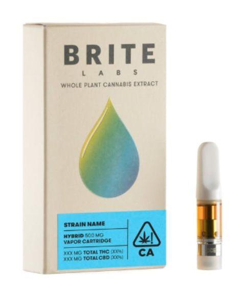 Brite Labs Lemon Kush Hybrid