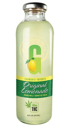 GFarmaLabs Cannabis Infused Lemonade 100mg
