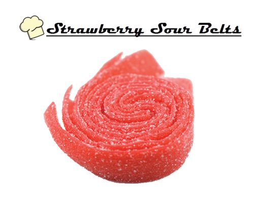 Infused Creations - Strawberry Sour Belts(Indica)