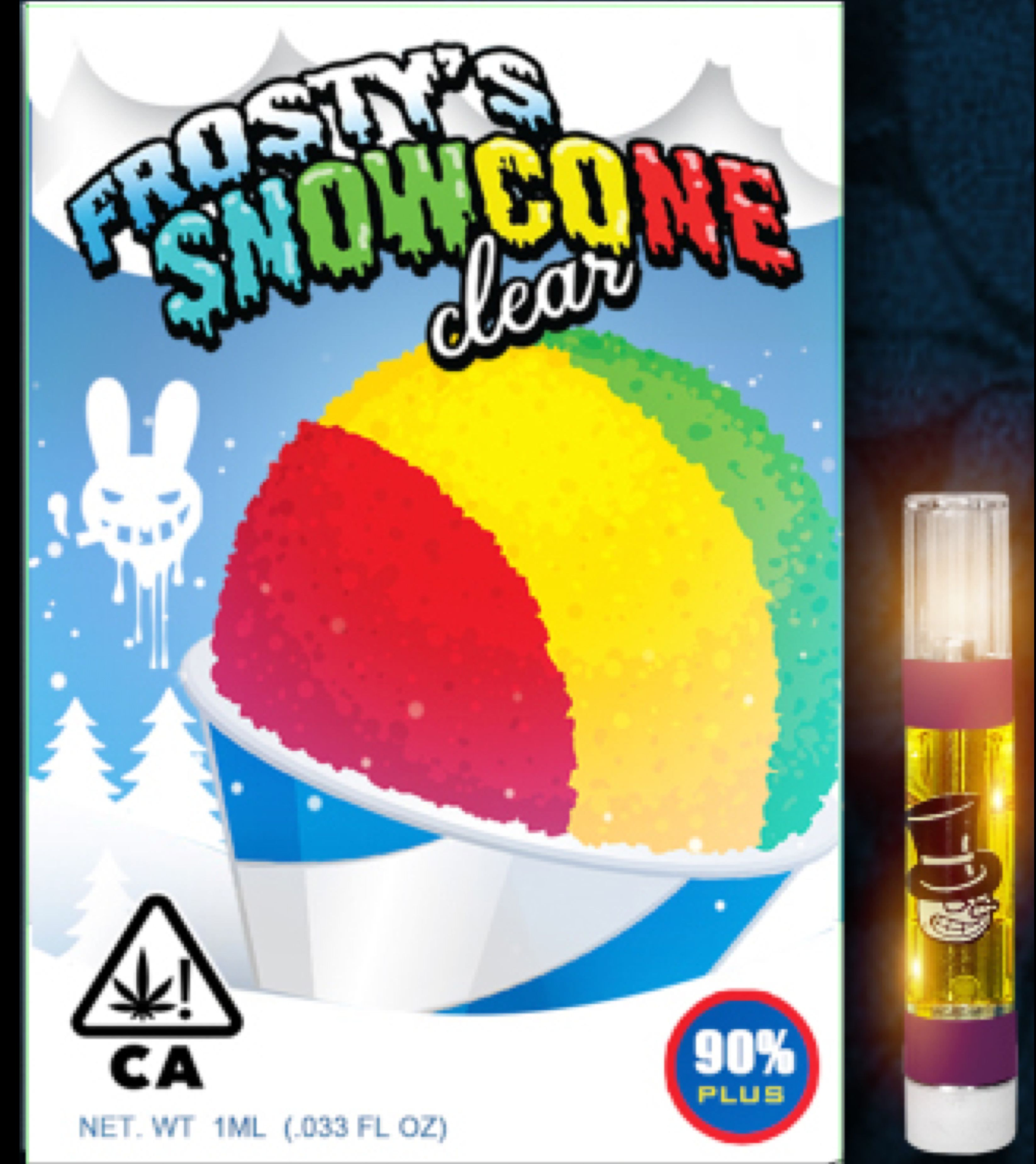 Frosty Snowmancone-Moonrock Cartridge - Top Notch Flowers