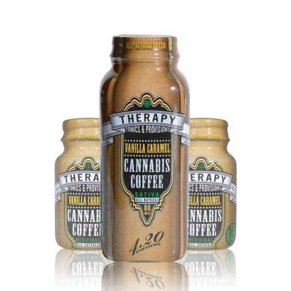 Vanilla Caramel Coffee 4oz, 100mg THC