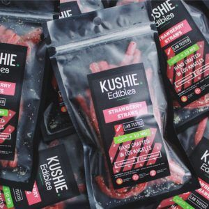 Kushie Strawberry Straws