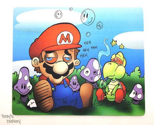 Mario & Koopa Dab Mat