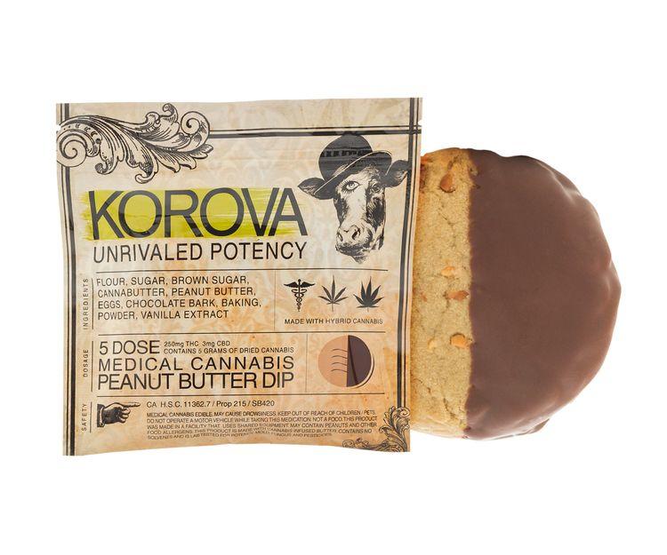 Korova Peanut Butter Dip - 250MG