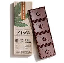 Kiva Espresso Dark Chocolate CBD Bar $32