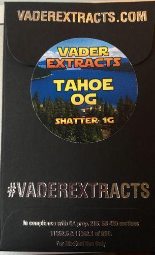 Vader Extracts- Tahoe OG Shatter 1g
