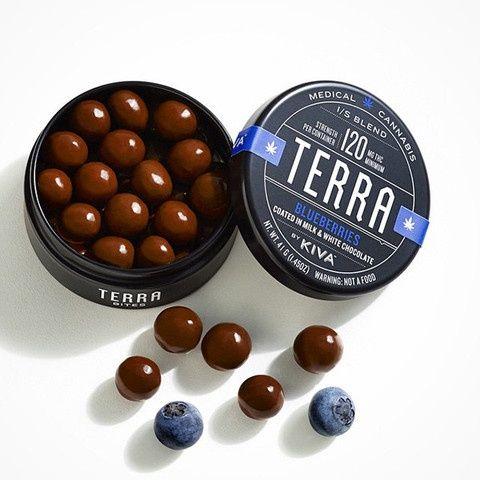 Kiva Terra Bites Blueberries $25
