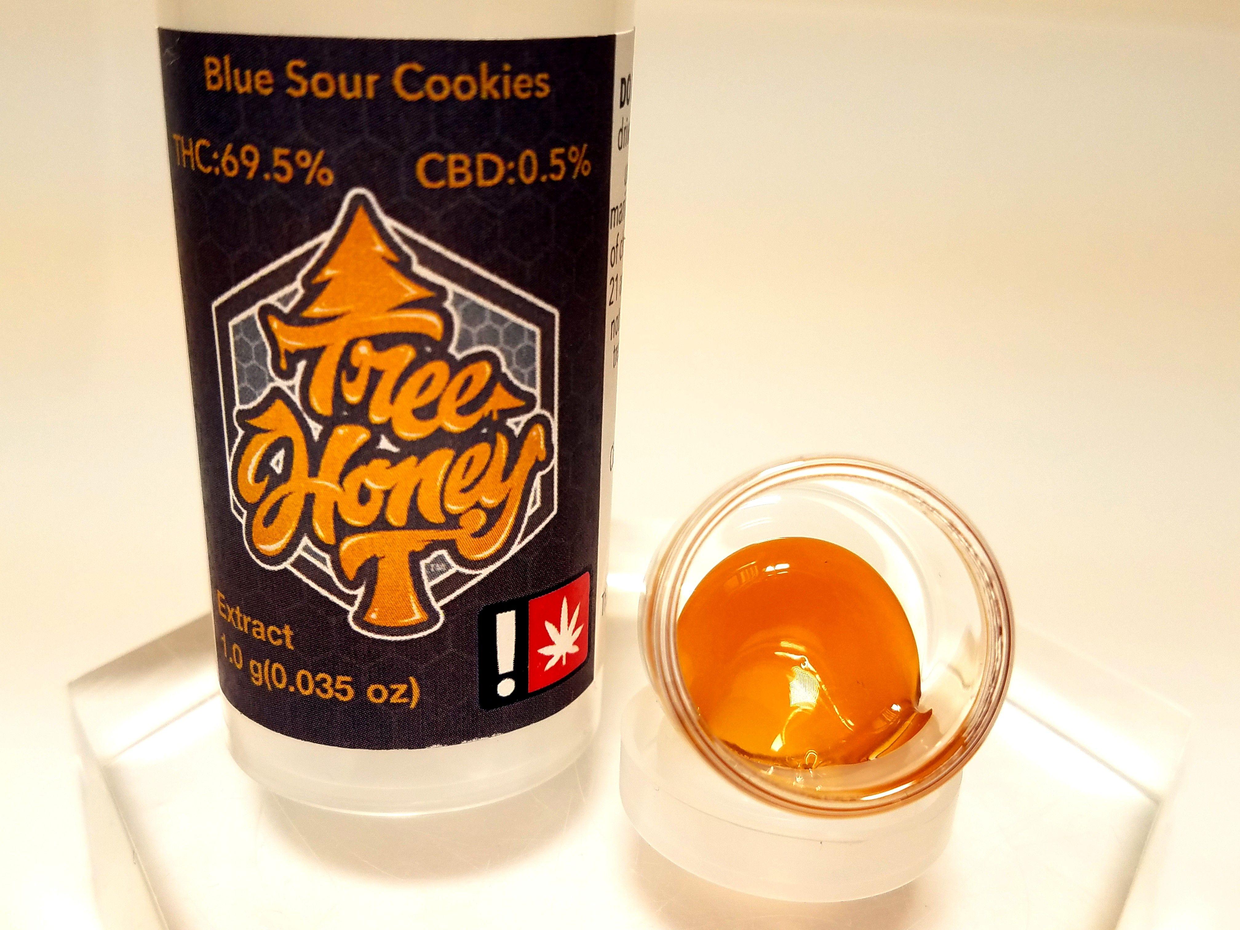 Tree Honey - Blue Sour Cookies, Hybrid, Pull-n-snap
