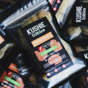 Kushie Peach Drops Sativa