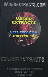Vader Extracts-Red Dragon  Shatter 1g