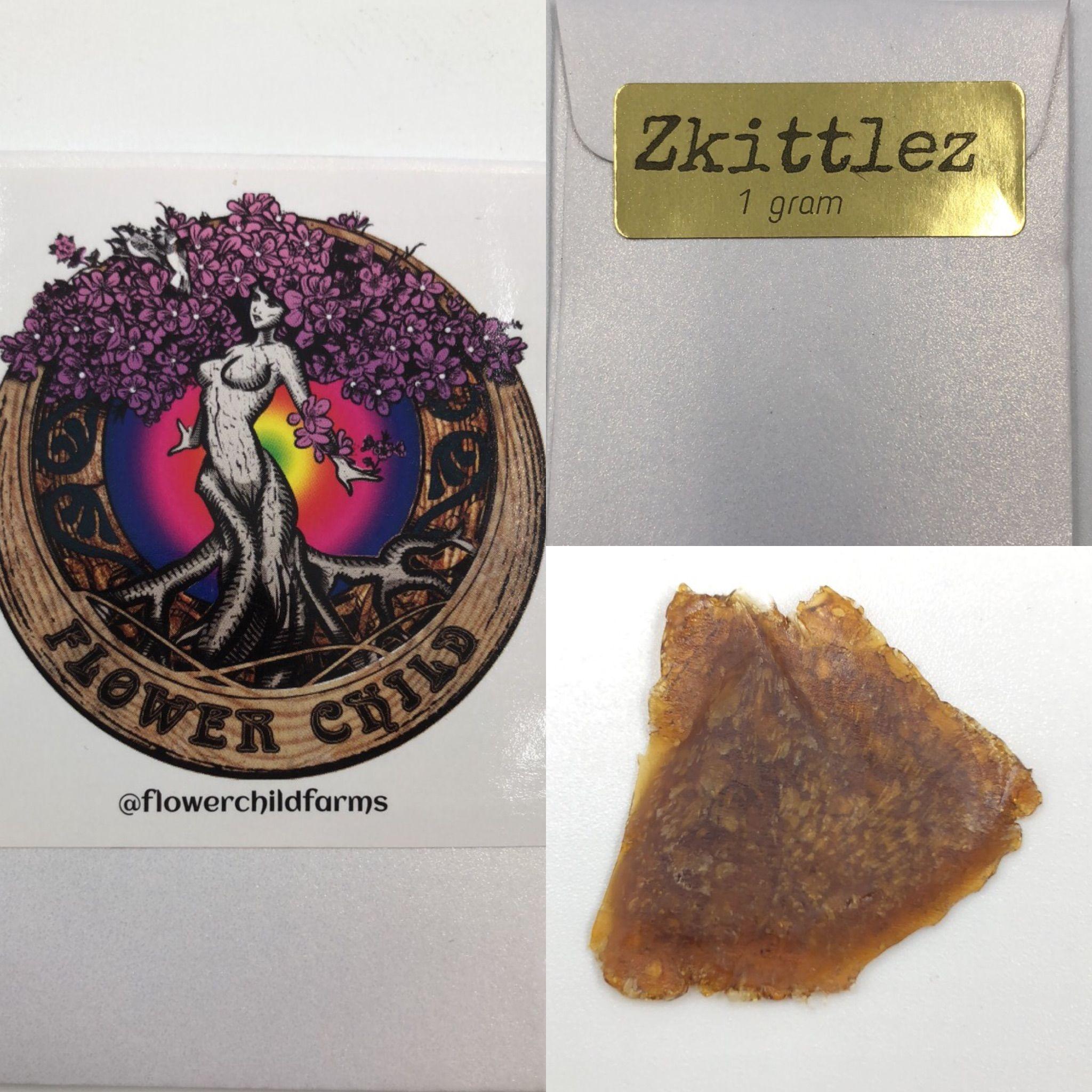 Zkittlez Shatter (FlowerChild Farms)