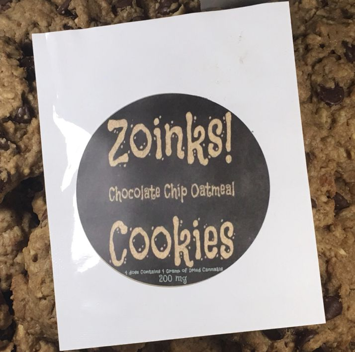 Zoinks Choco Oatmeal PB Cookie 100mg