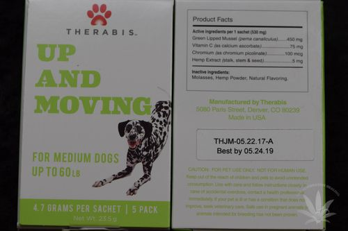 Therabis Up and Moving Medium Dog (5 pack)