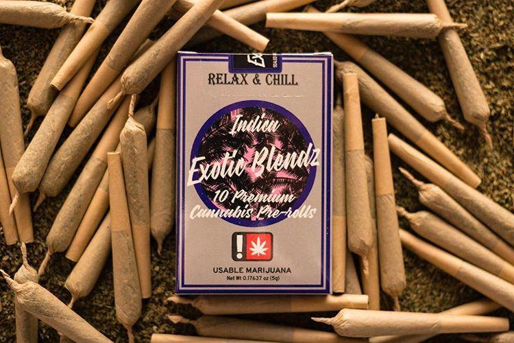 Exotic Blendz - Platinum OG, Indica, 10 Pack