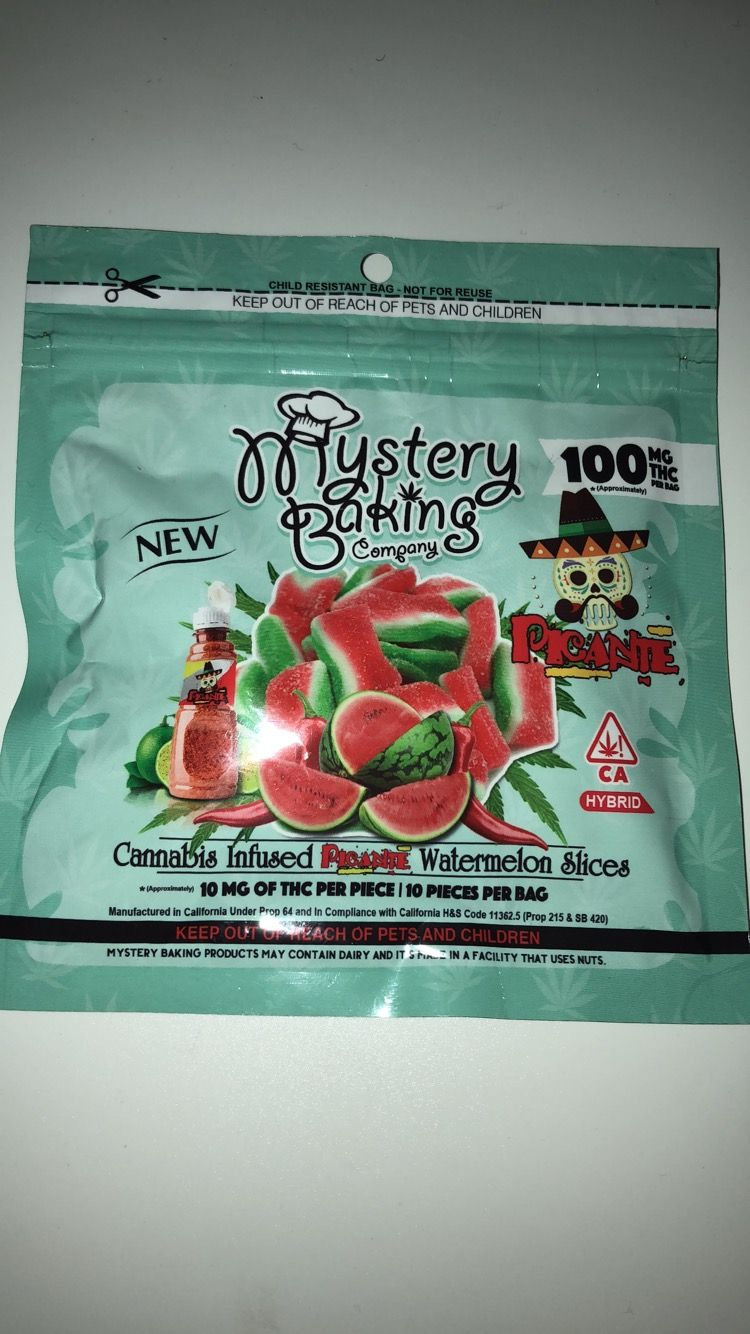 Mystery Baking Picante Watermelon Slices