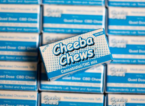 Cheeba Chews: CBD / THC Mix