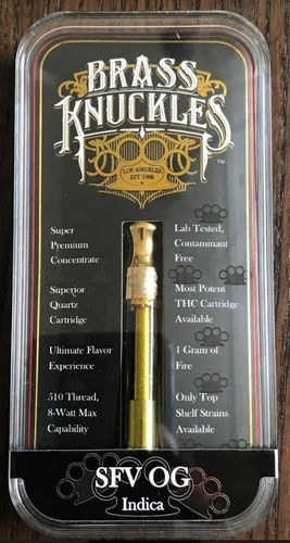 Brass Knuckles SFV OG Cart. 1gram