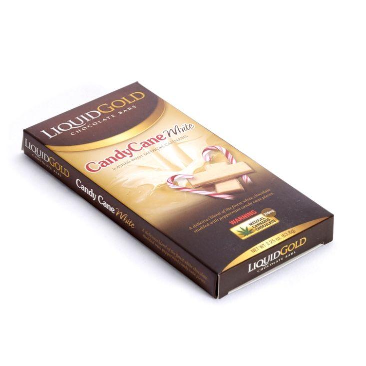 Liquid Gold Bars - Candy Cane WhiteChocolate