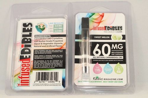 Sweet Melon CBD Cartridge - 60mg