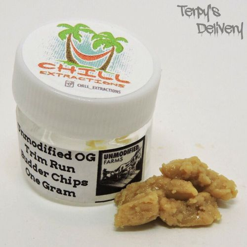 Unmodified OG Budder Chips - Chill Extractions