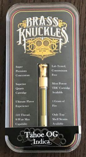 Brass Knuckles Tahoe OG Cart. 1gram