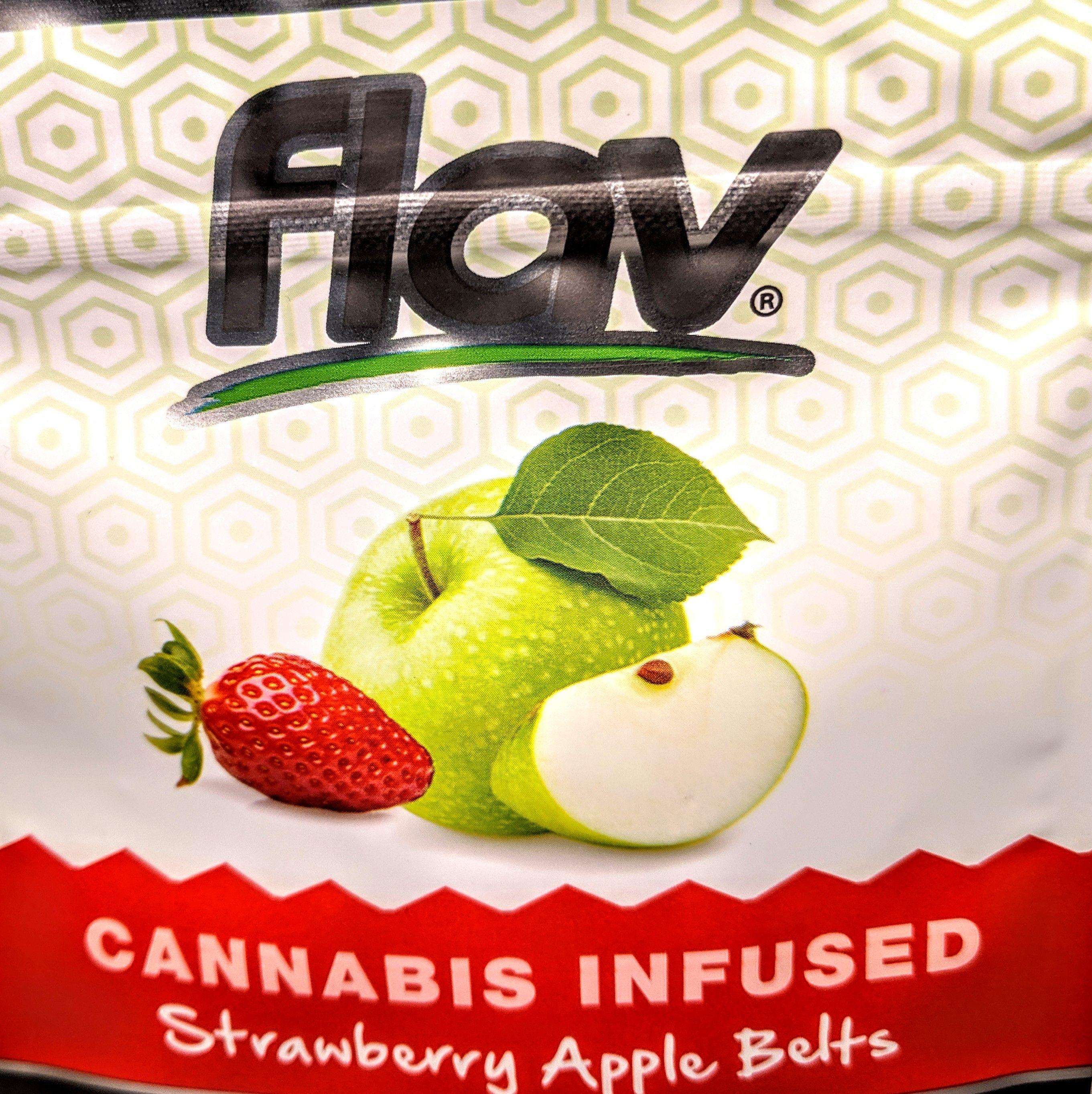 Flav - Strawberry Apple Gummy Belts
