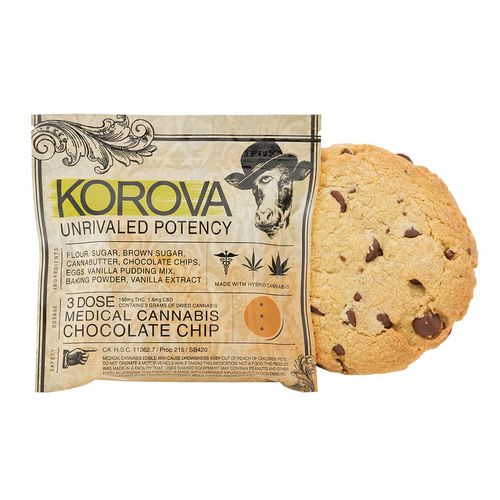 Korova Chocolate Chip Cookie, 150mg