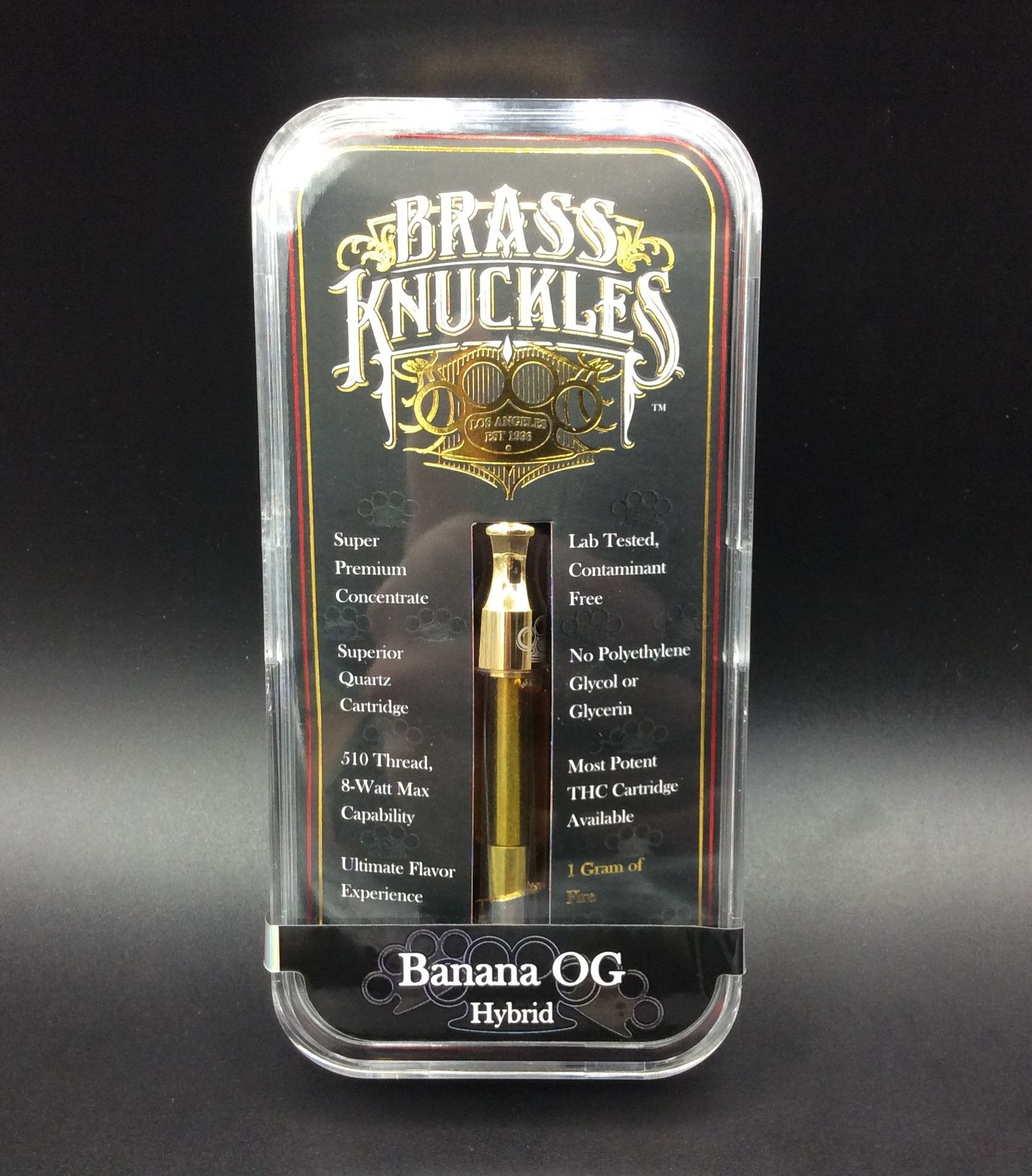 Banana O.G. 1g Vape Cartridge by Brass Knuckles