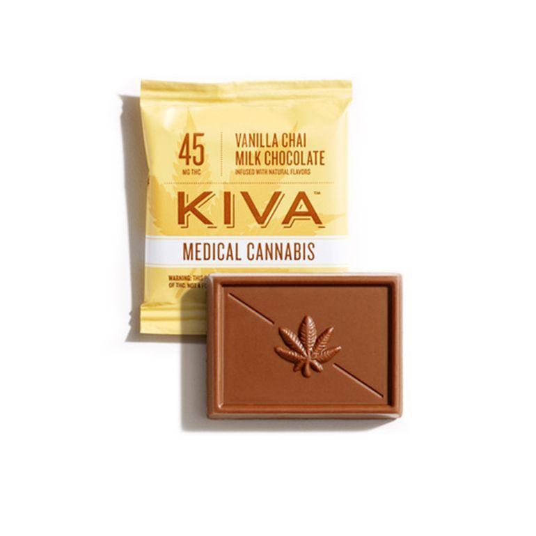 Kiva Vanilla Chai Milk Chocolate Mini - 45mg