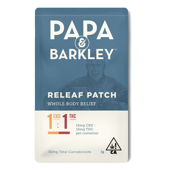 Papa & Barkley 1:1 Releaf Patch $23