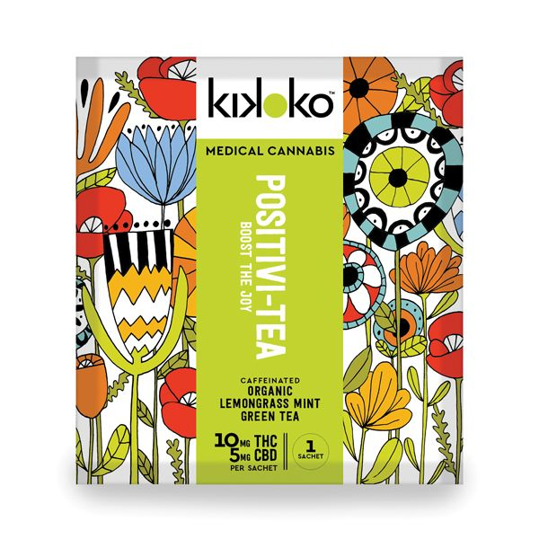 Kikoko Positivi-Tea Pouch $8