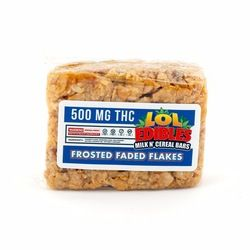 FROSTED FADED FLAKES CEREAL BAR - 500 MG