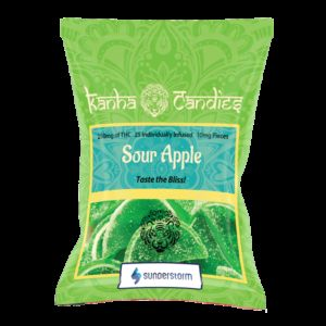 Kanha Candies- Sour Apple 150MG