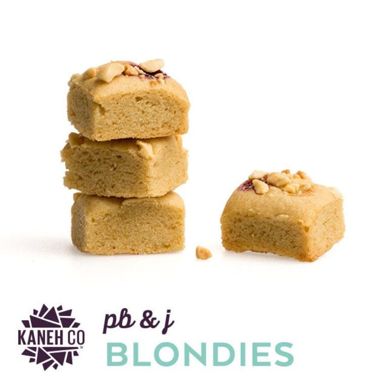 Kaneh Co - Peanut Butter n Jelly Blondies  100mg
