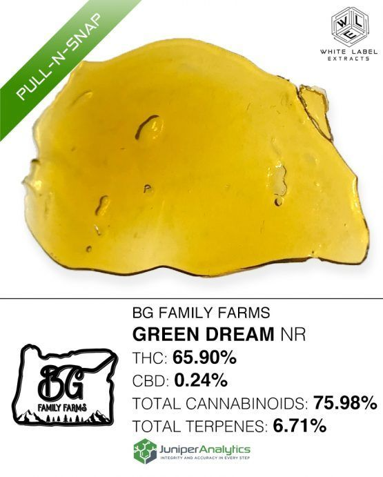 WLE - Green Dream NR Pull-n-Snap, Was $20