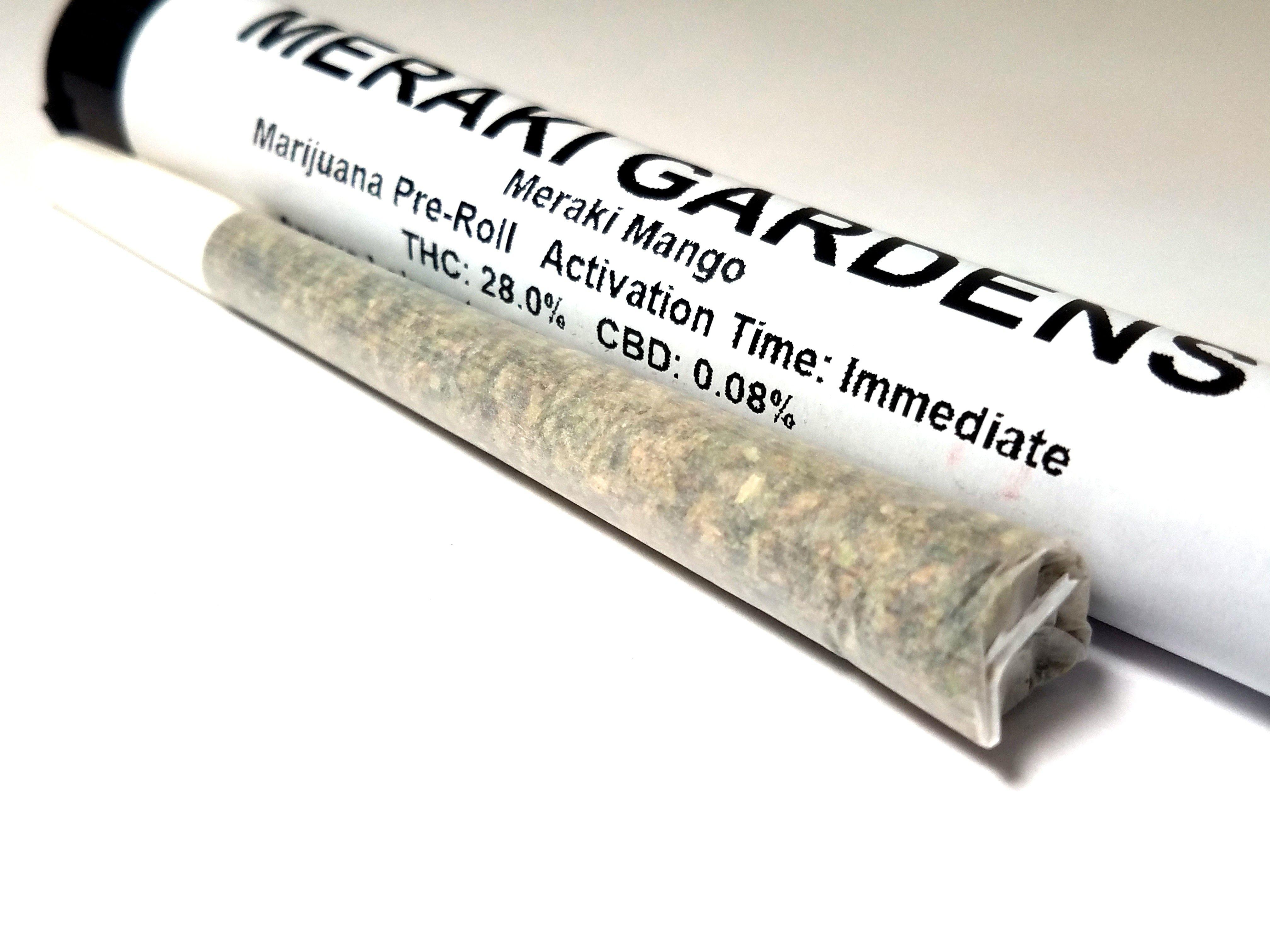 Meraki Gardens - Meraki Mango 1g Pre-roll