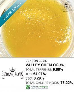 WLE - Valley Chem OG #4 Sugar Sauce