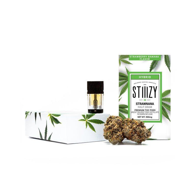 Strawnana - Stiiizy Premium THC POD