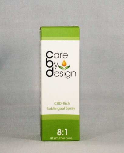 8:1 CBD Spray - Care By Design - 5 ML