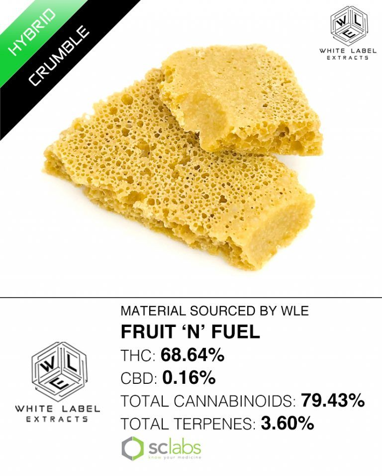 WLE - Fruit 'N' Fuel, Hybrid, Honeycomb