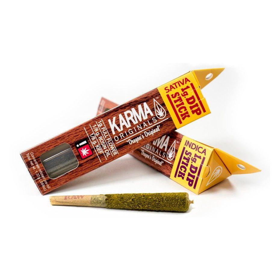Karma Originals - Blue Frost 1g, Indica Hybrid, Dip Stick