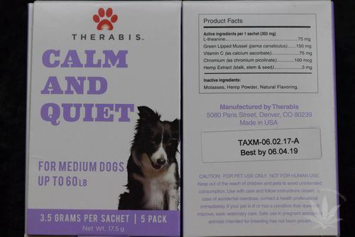 Therabis Calm & Quiet Medium Dog (5 pack)