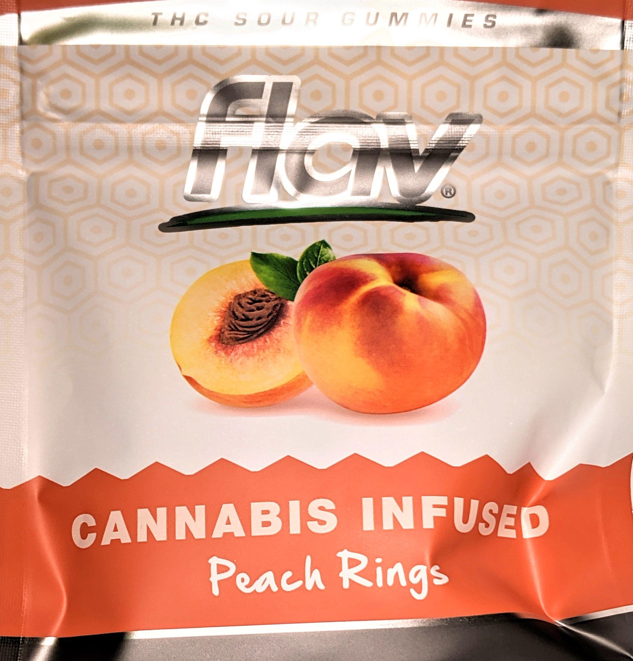 Flav - Peach Gummy Rings