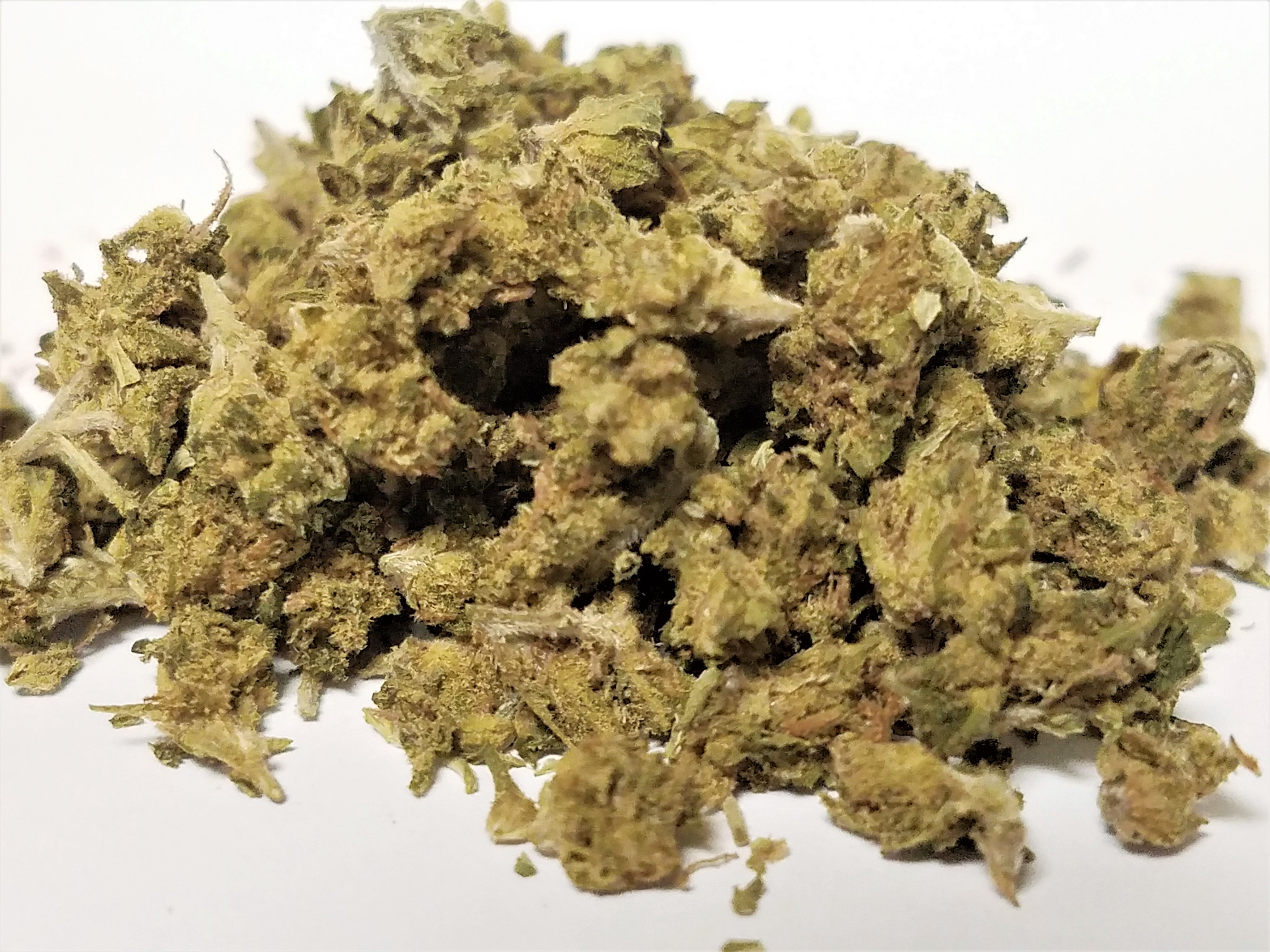 Loved Buds - Green Quack B Buds, Sativa, Outdoor