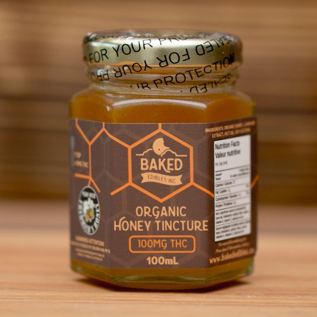 Baked Edibles Organic Honey Tincture