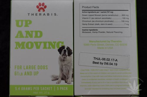 Therabis Up and Moving Large Dog (5 pack)